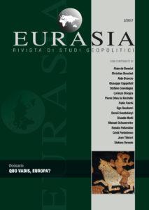 Copertina Eurasia - Numero 2 - 2017 - Prima