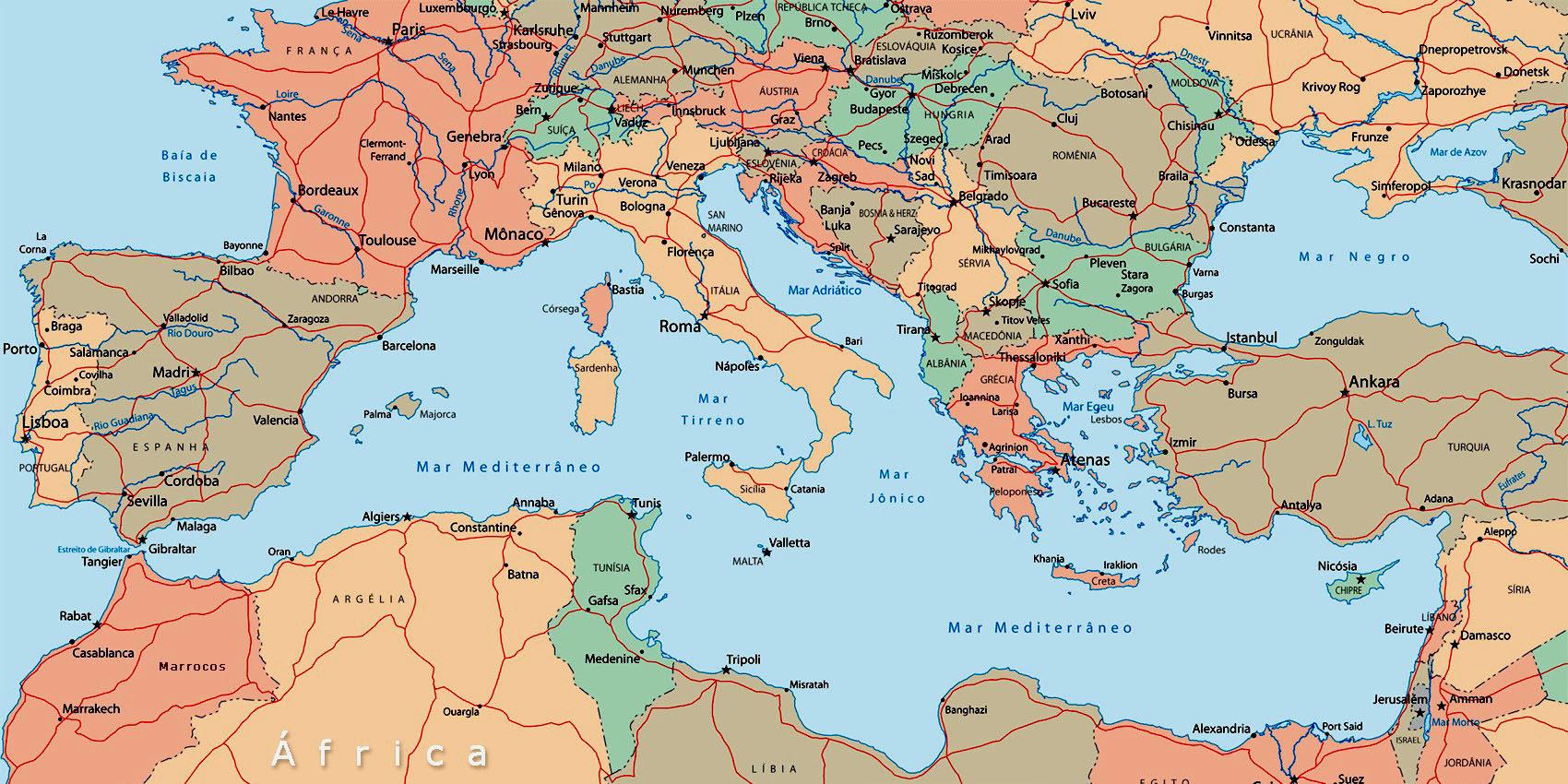 Cartina Russia Politica In Italiano.Un Pivot Mediterraneo Per L Italia Eurasia Rivista Di