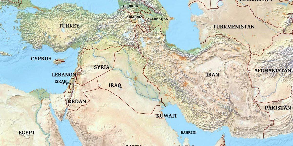 Politica Cartina Geografica Medio Oriente.Geopolitica Dei Modelli Istituzionali Del Medio Oriente Eurasia Rivista Di Studi Geopolitici